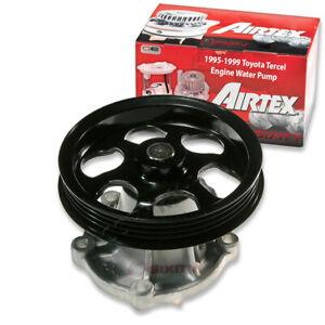 Airtex Engine Water Pump for 1995-1999 Toyota Tercel 1.5L L4 Coolant vx