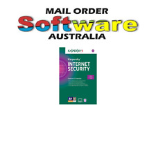 kaspersky internet security 2018 3-User 1-Year Brand New E-Download