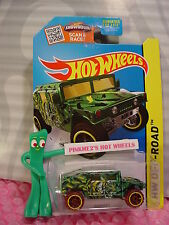 Case P 2015 Hot Wheels HUMVEE #105∞Green; Yellow/Black; or6 brown∞Jungle Rally