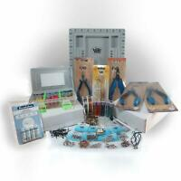 Jewelry Making Bead Kit Adult All in One Beading Supplies and Storage Box, Glass