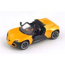 VENTURI AMERICA 2013 BLACK AND ORANGE 1:43 Spark Model Auto Stradali Die Cast