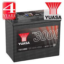 Yuasa Car Battery Calcium 12V 400CCA 45Ah T1/T3 For Nissan Micra K11 1.3 1.4