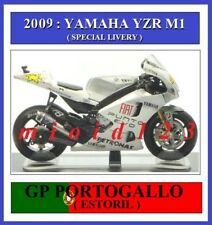 1/18 - ROSSI - YAMAHA YZR M1 - 2009 Estoril - Die-cast [ Punto EVO livery ]