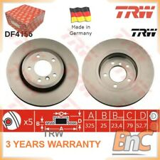 New Fits BMW Z4 E86 3.0Si Genuine Mintex Rear Brake Discs Pair x2