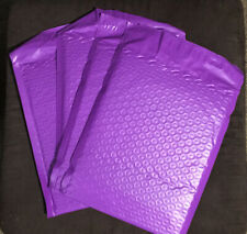 15 Pack Small Purple Poly Bubble Mailers Padded Self Seal 6x8x2in Usable Space