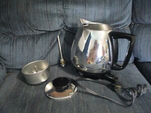 Vintage Towncraft Jet-O-Matic Stainless Steel Automatic Drip Coffee Maker