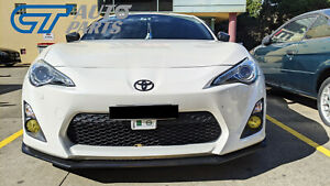 SEIBON style front bumper lip for 2012-2016 Toyota 86 GT GTS GT86 FT86 ZN6