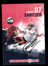 Marcel Sabitzer Autogrammkarte RB Leipzig 2015-16 Original Signiert+A 172174