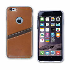 Transparent Leather Mobile Phone Cases & Covers for iPhone 6