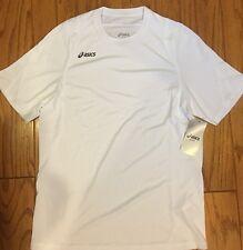 Asics Crusher Jersey, White, S/P, Bt1064
