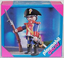 FRANZOSE GARDE OFFIZIER Playmobil Special 4611 v.`02 zu Rotröcke Piraten OVP NEU