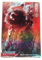 Marvel Avengers END GAME Wafer Card Vol.1 No.21 Rocket