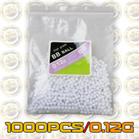 1000PCS Hard Airsoft Pellets BB Strikeball 0.12g - 6mm Tactical BB Balls