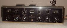 Vintage Scott LK72 Integrated Stereo Amplifier  Parts or Repair Needs Tubes