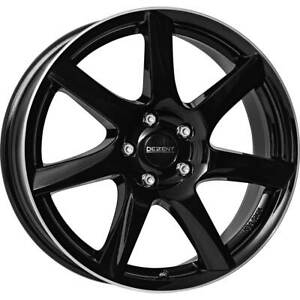 Dezent wheels TW dark 7.0Jx17 ET40 5x114,3 for Daihatsu Terios 17 Inch rims