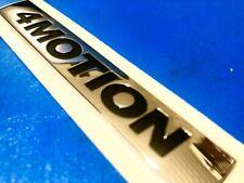 LOGO VW 4MOTION GOLF PASSAT TOURAN TIGUAN TOUAREG T-ROC BADGE ORIGINAL 5G0853675