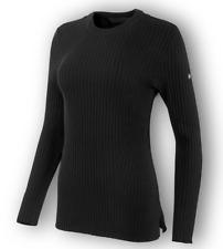HARLEY-DAVIDSON® WOMEN'S WOOL BLEND BLACK SWEATER 96326-19VW MEDIUM