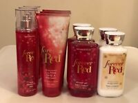 Bath & Body Works Forever Red Body Lotion Cream Shower Gel Fragrance Mist Pick 1