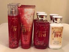 Bath & Body Works Forever Red Body Lotion Cream Shower Gel Fragrance Mist Pick 1