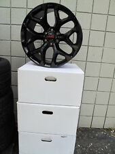 "20"" GMC YUKON SIERRA SUV FACTORY STYLE GLOSS BLACK NEW SET OF WHEELS 5668 F"