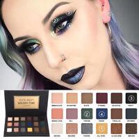 US HANDAIYAN 18 Colors Eye Shadow Makeup Pearl Metallic Eyeshadow Palette Makeup