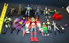 """Batman Robin DC Comics Collectibles Mixed Lot Action Figures 5"""" 4""""  1:18  6"""""""