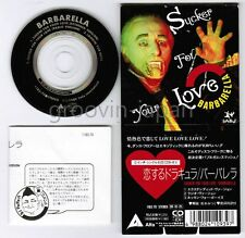 """BARBARELLA Sucker For Your Love JAPAN 3"""" CD 11B3-70 Unsnapped FREE S&H/P&P"""