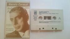 Cinta Manolo Caracol Bulerias y Fandangos Nueva Edicion Cassette Flamenco