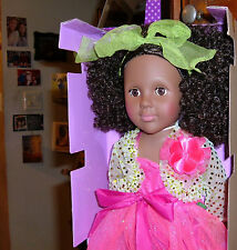 """18"""" Doll African Amer. Madame Alexander - PARTY PRINCESS! NEW ON THE MARKET!"""