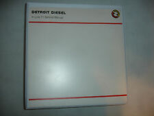 Detroit Diesel Inline In-Line Series 71 Service Shop Repair Manual Marine Rev'88