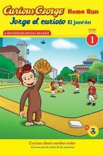 Jorge El Curioso El Jonron/Curious George Home Run (Paperback or Softback)