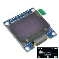 "White 3-5V 0.96"" SPI Serial 128X64 OLED LCD LED Display Module for Arduino U"