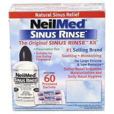 NeilMed Sinus Rinse Regular Kit 60 Sachets & Irrigator