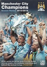 Manchester City MCFC Champions Season Review 2013/2014 - NEW All Regions DVD