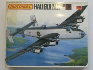 Matchbox 1/72 PK-604 Handley Page Halifax GR.II 19879 Complete Kit   (B25)