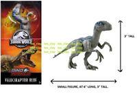 "Jurassic World Velociraptor Blue 6"" DINO RIVALS Figure NEW! Raptor"