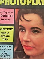 Vintage Collectible Movie Magazine Photoplay Elizabeth Taylor Cover June 1958