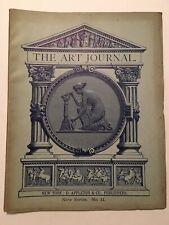 The Art Journal (issue), New Series, No. 11, D. Appleton New York, Nov 1875