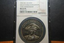 1903 Valley Forge, 125th Anniversary of Evacuation,  HK-132 - NGC MS63PL - R-5