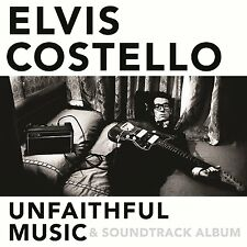 ELVIS COSTELLO UNFAITHFUL MUSIC & SOUNDTRACK ALBUM CD - NEW RELEASE OCTOBER