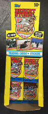 TOPPS DESERT STORM VICTORY SERIES  21 PACKS CARDS STICKERS