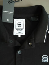 Polo Negro G-STAR RAW MIDDER T SS Talla  M Black 84070E.5864.990