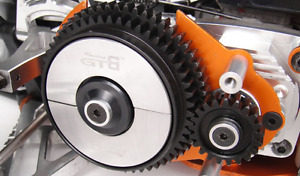 CNC metal 2 speed gear system Set for 1/5 Hpi rovan kingmotor mcd Baja 5B/5T/5SC