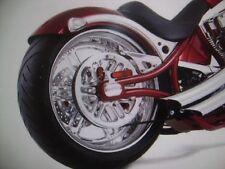BIG DOG MOTORCYCLES 2008-11 PITBULL REAR BELT GUARD CHROME 200-000212-01 OEM
