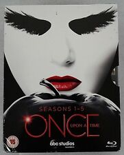 Once Upon a Time: The Complete Seasons 1-5 Blu-ray
