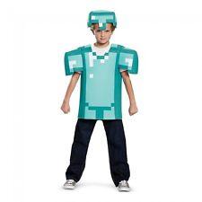 minecraft armor classic child kids boys halloween costume m medium