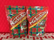 Canadian Mackintosh's Toffee! 2 bags x 246 g taffy minis. 1 lb! Ships from USA!
