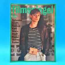 DDR Filmspiegel 12/1984 Shirlay MacLaine Sidney Poitier Adele Sandrock Groth B