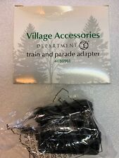 Department 56 Train and Parade Adapter 4030961 Dept Plug Batteries New