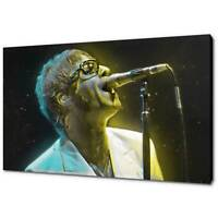 OASIS LIAM GALLAGHER CANVAS PICTURE PRINT GLARE LIGHT WALL ART FREE DELIVERY